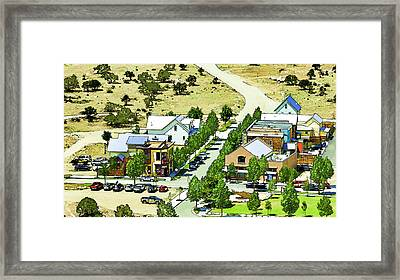 Buena Vista By The River Framed Print