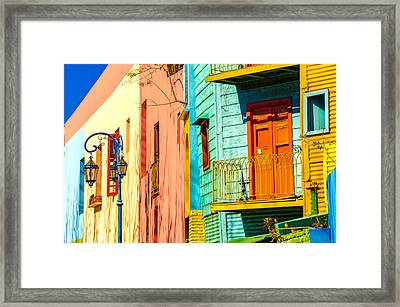 Buenos Aires Colors Framed Print by Jess Kraft
