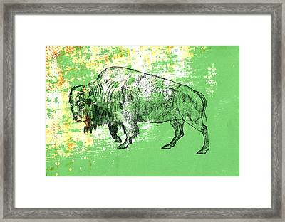 Buffalo 11 Framed Print by Larry Campbell