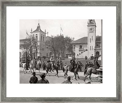 Buffalo Bill Columbian Exposition 1893 Framed Print