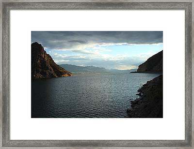 Buffalo Bill Reservoir Framed Print