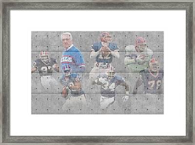 Buffalo Bills Legends Framed Print