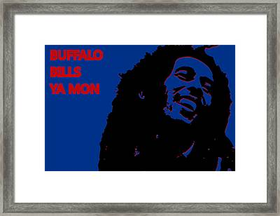 Buffalo Bills Ya Mon Framed Print by Joe Hamilton