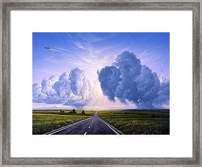 Nato Buffalo Crossing Framed Print