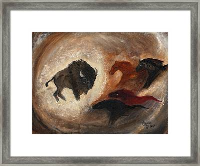 Buffalo Dream Framed Print