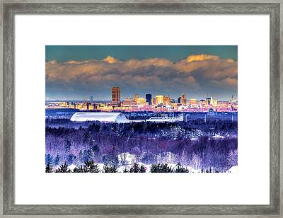 Buffalo From Chestnut Ridge Framed Print