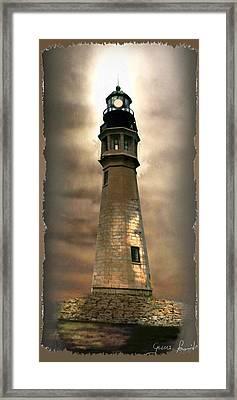 Buffalo Main Lighthouse Framed Print by Regina Femrite