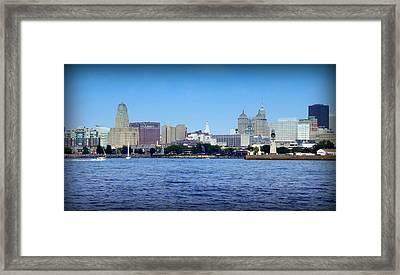Buffalo New York Framed Print by John Carncross
