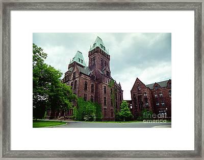 Buffalo Psychiatric Center Framed Print