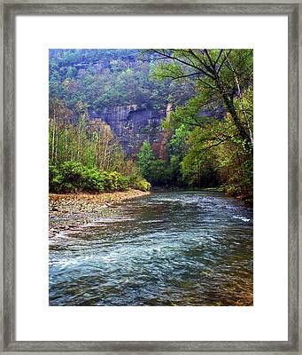 Buffalo River Downstream Framed Print