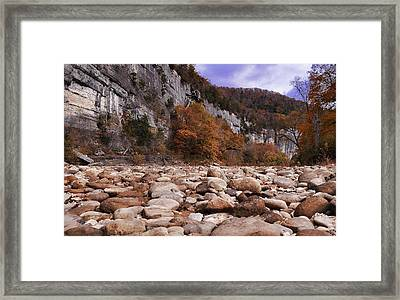 Buffalo River Framed Print