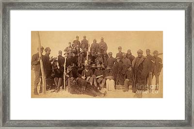 Buffalo Soldiers Framed Print