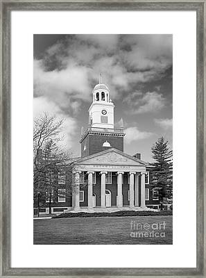 Buffalo State College Rockwell Hall Framed Print by University Icons