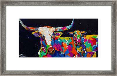 Buffalo's Gals Framed Print by Tracy Miller