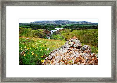Buford Lake  Framed Print