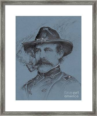 Buford's Stand Framed Print