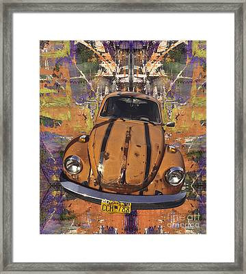 Bug Love Framed Print by Bruce Stanfield