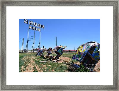 Framed Print featuring the photograph Bug Ranch by Utopia Concepts