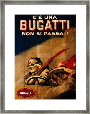 Bugatti 1922 Framed Print by Mark Rogan