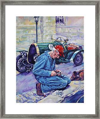 Bugatti-angouleme France Framed Print by Derrick Higgins