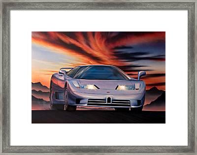 Bugatti Framed Print by Garry Walton