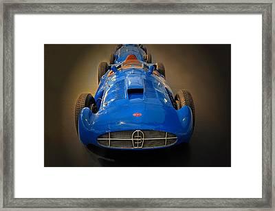 Bugatti Monoplace Gp Type 251 Framed Print