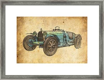 Bugatti Framed Print by Pablo Franchi