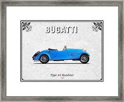 Bugatti Type 44 1927 Framed Print by Mark Rogan