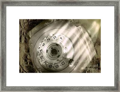 Bugged Retro Telephone Framed Print by Jorgo Photography - Wall Art Gallery