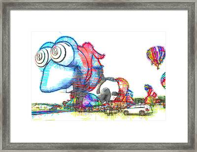 Buggy Framed Print by Alice Gipson