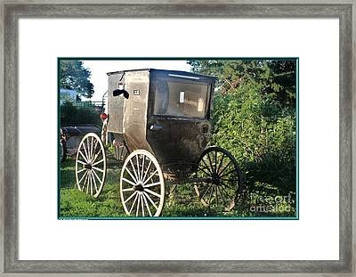 Buggy Framed Print by PainterArtist FIN
