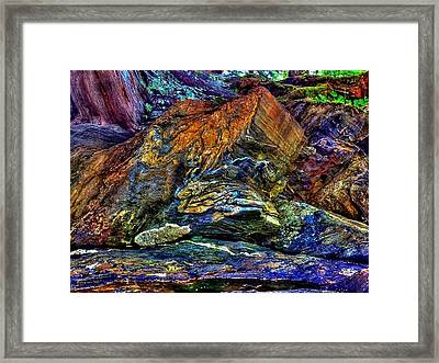 Buggy Rock Framed Print by Karen Horn
