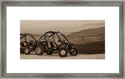 Buggy Framed Print by Silvia Bruno