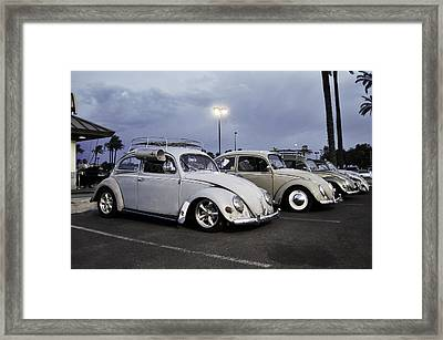 Bugs Night Out Framed Print by Rob Weisenbaugh