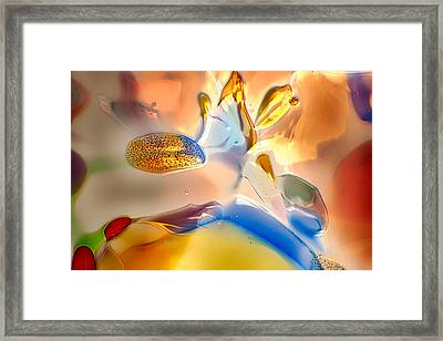 Bugs On Parade Framed Print by Omaste Witkowski