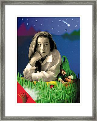 Bugs To Stars Framed Print by Bob Winberry