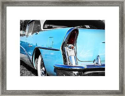 Buick Baby Blue Framed Print