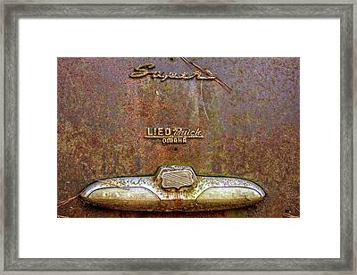 Buick Dynaflow Framed Print by Greg Mimbs