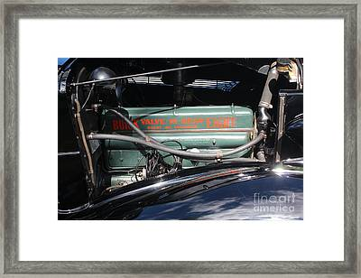 Buick Eight Framed Print by Joseph Marquis