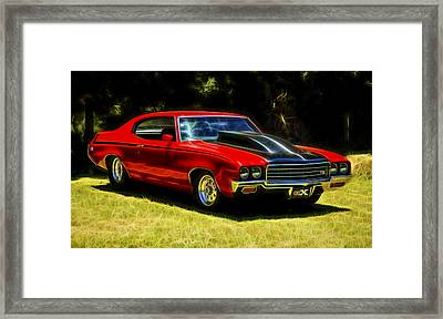 Buick Gsx Framed Print by motography aka Phil Clark