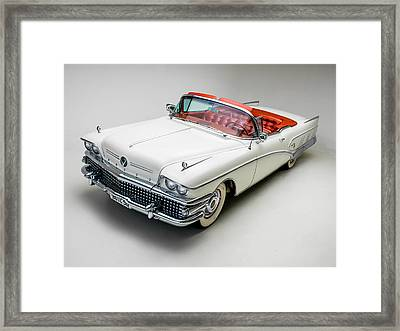 Buick Limited Convertible 1958 Framed Print
