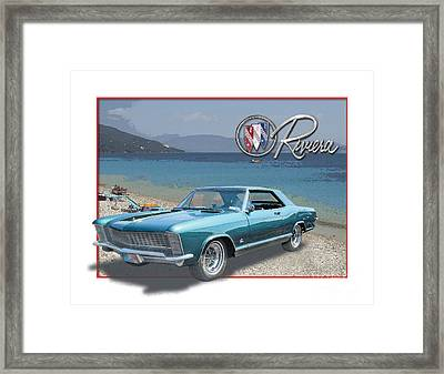 Buick Riviera At The Riviera Framed Print