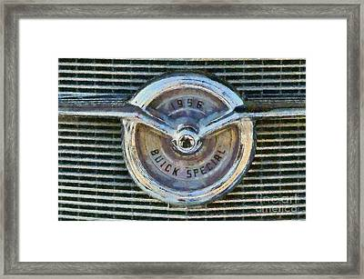 1956 Buick Special Framed Print by George Atsametakis