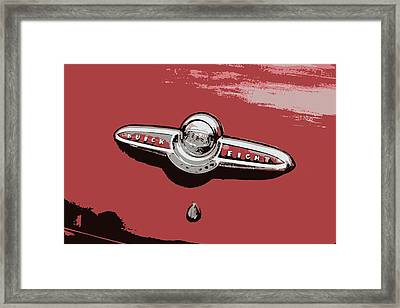 Buick  Framed Print by Tina Sessions