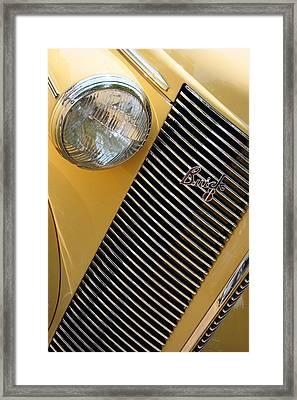 Buick8 Framed Print by Rebecca Cozart