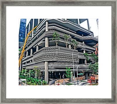 Build Framed Print by Arik S Mintorogo