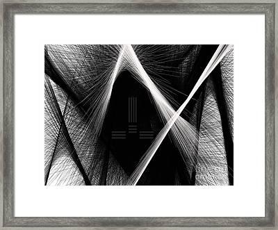 Build Block Framed Print by Blaine Bernard