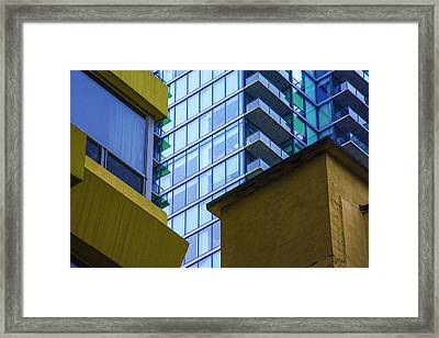 Building Abstract No.1 Framed Print