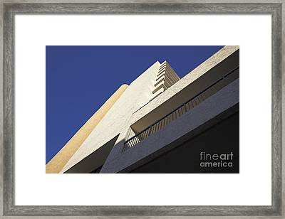 Building Abstract Framed Print