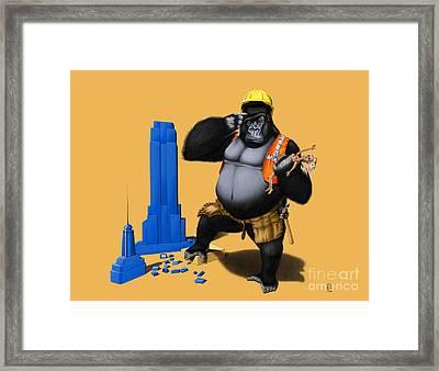 Building An Empire Colour Framed Print by Rob Snow
